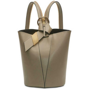 Calvin Klein Karsyn Leather Convertible Hobo Backp